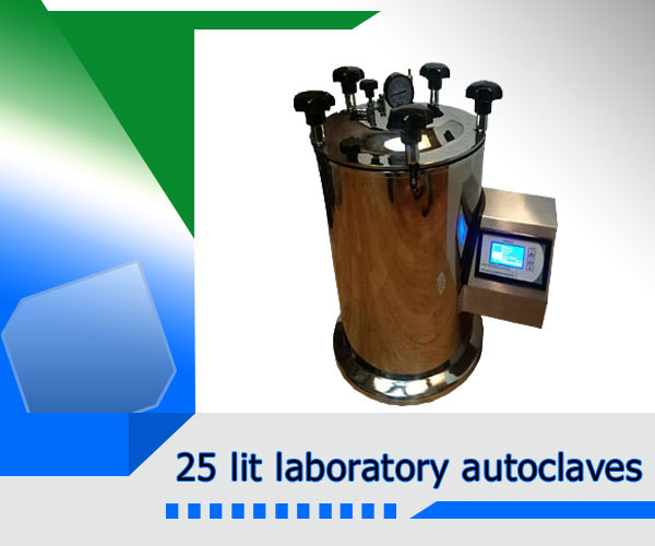 25 lit laboratory autoclaves